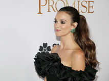 Charlotte Le Bon. At the Los Angeles premiere of `The Promise` held at the TCL Chinese Theatre in Hollywood, USA on April 12, 2017 Stock Photography