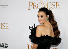 Charlotte Le Bon. At the Los Angeles premiere of `The Promise` held at the TCL Chinese Theatre in Hollywood, USA on April 12, 2017 Royalty Free Stock Image