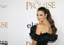 Charlotte Le Bon. At the Los Angeles premiere of `The Promise` held at the TCL Chinese Theatre in Hollywood, USA on April 12, 2017 Royalty Free Stock Photos