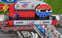Charlotte Motor Speedway stage 10-11-14 Royalty Free Stock Photo