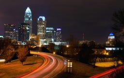 Charlotte, NC Fotografie Stock