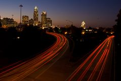 Charlotte NC Royalty Free Stock Photography