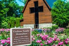 Charlotte, NC abril de 2019 - na biblioteca pública de Graham do billy no dia ensolarado fotos de stock