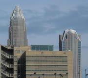 Charlotte NC - de mening van de Suikerkreek Stock Foto's