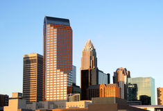 Charlotte, NC, skyline Fotos de Stock