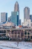 Charlotte nc skyline Stock Image