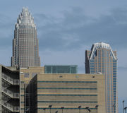 Charlotte NC -Sugar Creek view Stock Photos