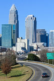 Charlotte, NC. View on Uptown Charlotte, NC f Stock Images