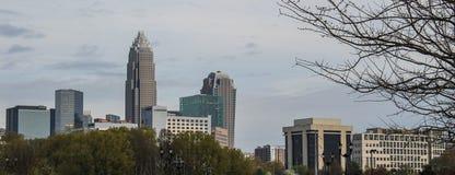 Charlotte NC - Zuckernebenflussansicht 2 Lizenzfreie Stockfotografie