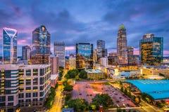 Charlotte, Nord-Carolina stockfotos