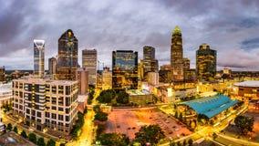 Charlotte Nord-Carolina Stockfotos