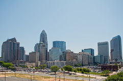 Charlotte north carolina Royalty Free Stock Image