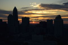 Charlotte, North Carolina. Royalty Free Stock Image