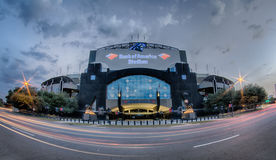 CHARLOTTE, NORTH CAROLINA - August, 2014: View of the newly reno Royalty Free Stock Photography