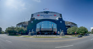 CHARLOTTE, NORTH CAROLINA - August, 2014: View of the newly reno Stock Image