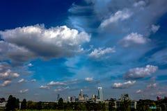 Charlotte north carolina city skyline Stock Photo