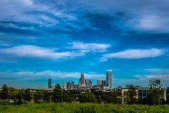 Charlotte north carolina city skyline Stock Photos