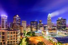 Charlotte, North Carolina Cityscape Royalty Free Stock Photo