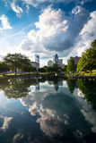 Charlotte, North Carolina Reflections Stock Photography