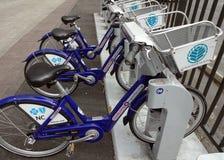 Charlotte, North Carolina's Bike Sharing Program Stock Photo