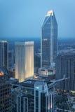 Charlotte, North Carolina Skyline Stock Images