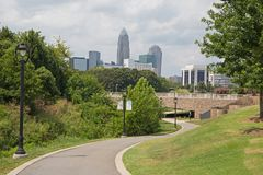 Charlotte, North Carolina Stock Photography