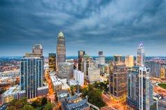 Charlotte, North Carolina, USA stock image