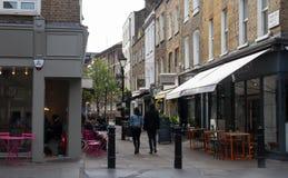 Charlotte Place London W1 Royalty Free Stock Photo