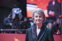 Charlotte Rampling attends the Homage Charlotte Rampling stock image