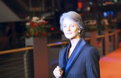 Charlotte Rampling attends the Homage Charlotte Rampling royalty free stock image