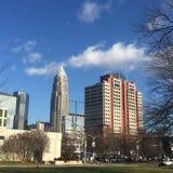 Charlotte skyline stock photos