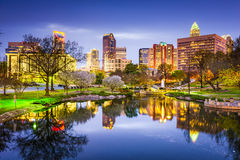 Charlotte Skyline Stock Photography