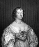 Charlotte Stanley, Countess of Derby Royalty Free Stock Photography