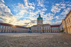 Charlottenburg in Berlin, Germany Royalty Free Stock Photography