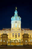 Charlottenburg in berlin at night Stock Photos