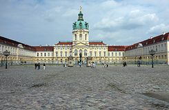 Charlottenburg castle Stock Photo