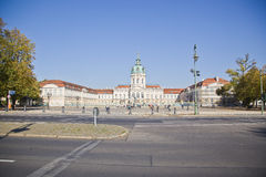 Charlottenburg castle Royalty Free Stock Images