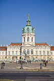 Charlottenburg castle Stock Image