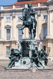 Charlottenburg Equestrian Monument Palace Berlin Royalty Free Stock Photography
