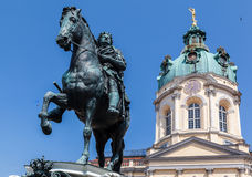Charlottenburg Equestrian Monument Palace Berlin Stock Photo