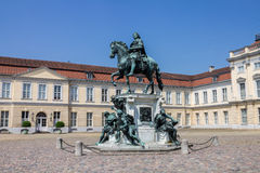 Charlottenburg Equestrian Monument Palace Berlin Stock Image
