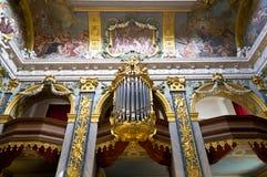Charlottenburg organ Obraz Stock