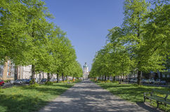 Charlottenburg pałac Berlin i park, Niemcy fotografia royalty free