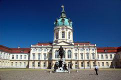 Charlottenburg Palace Royalty Free Stock Photography