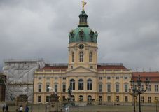 Charlottenburg Palace in Berlin royalty free stock image