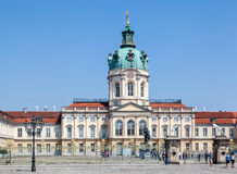 Charlottenburg Palace Berlin Royalty Free Stock Photo