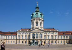 Charlottenburg Palace Berlin Stock Images