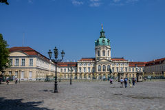 Charlottenburg Palace Berlin Stock Photo