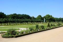 Charlottenburg Palace, Berlin. Garden at Charlottenburg Palace in Berlin, Germany Stock Photo