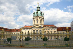 Charlottenburg Palace in Berlin Royalty Free Stock Images
